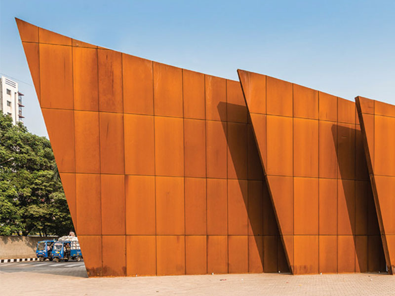Possibilities Corten has to offer