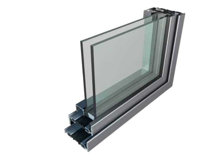 Steel windows profile